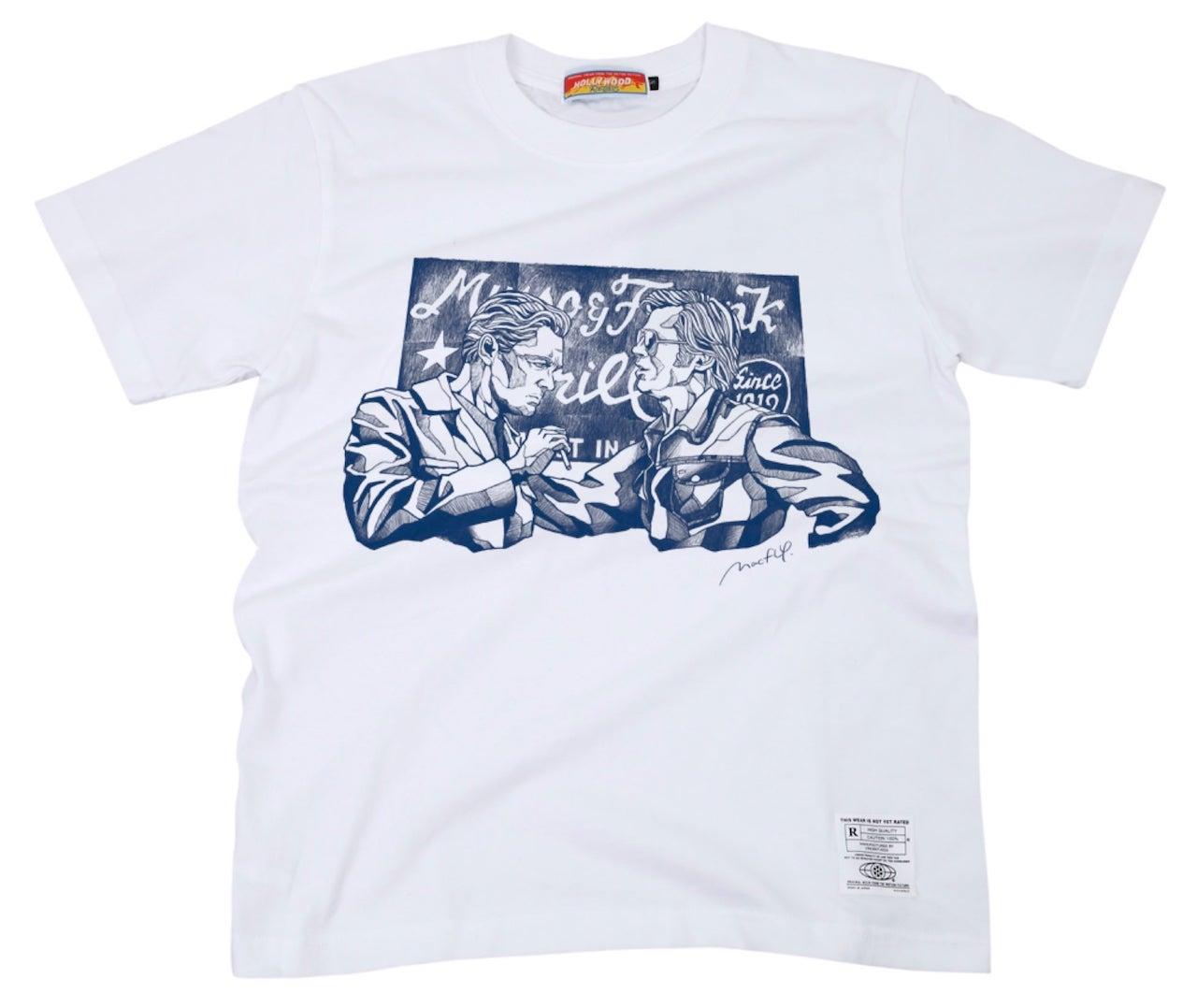 ハリウッド俳優Tシャツ