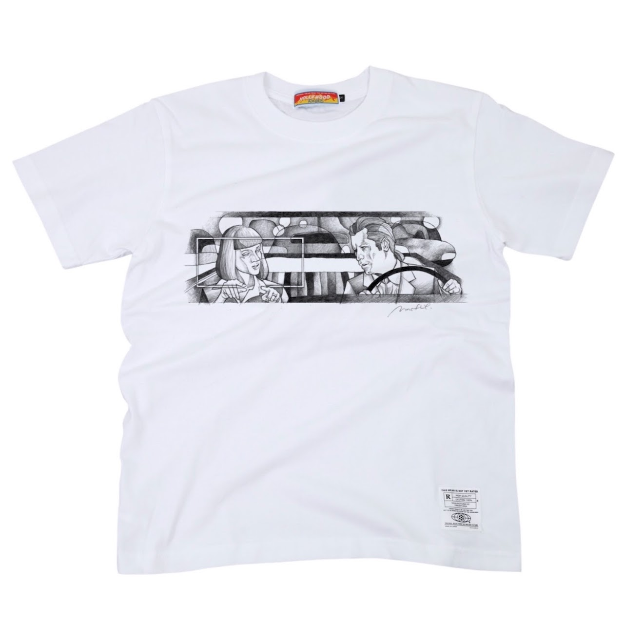 四角四面Tシャツ
